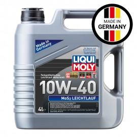 image of NEW Liqui Moly MoS2 Leichtlauf 10W40 Semi Synthetic Engine Oil 4L