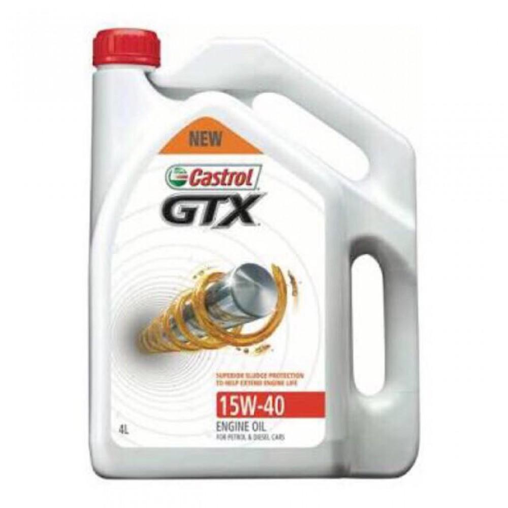 Castrol GTX 15W40 SN/CF Engine Oil 4L