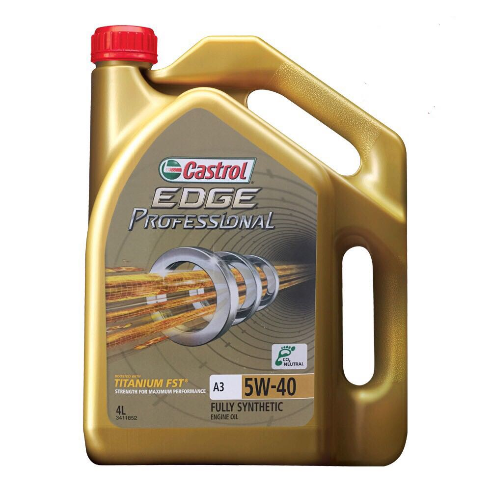 Castrol EDGE PROFESSIONAL 5W40 SN/CF Fully Synthetic Engine Oil 4L
