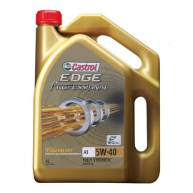 image of Castrol EDGE PROFESSIONAL 5W40 SN/CF Fully Synthetic Engine Oil 4L