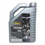 LUBRIX 5W40 Fully Synthetic SN/CF Engine Oil 4L (Proton/Perodua/Toyota/Nissan)