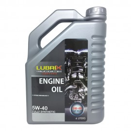 image of LUBRIX 5W40 Fully Synthetic SN/CF Engine Oil 4L (Proton/Perodua/Toyota/Nissan)