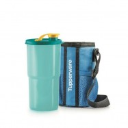 image of Tupperware Thirstquake Tumbler With Pouch (1) 900ml