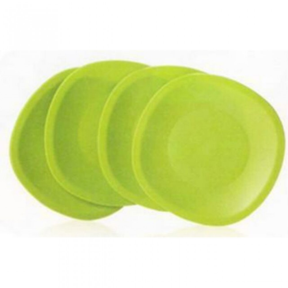 Tupperware Blossom Microwaveable Plates (4)