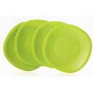 image of Tupperware Blossom Microwaveable Plates (4)