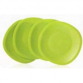 image of Tupperware Blossom Microwaveable Plates (4)