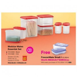 image of Tupperware Modular Mates Essential Set - Chili Set (FREE FreezerMate Small I (2pcs) 250ml)