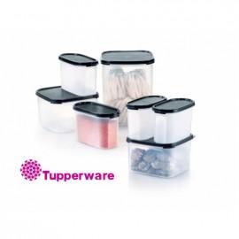 image of Tupperware Modular Mates Essential Set - Black (FREE FreezerMate Small I (2pcs) 250ml)