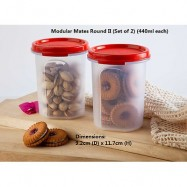 image of Tupperware Modular Mates Round II (1) 440ml - Chili