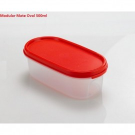 image of Tupperware Modular Mate OvalI (1) 500ml - Chili