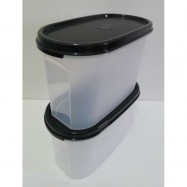 image of Tupperware Modular Mate Oval II(1) 1.1L - Black