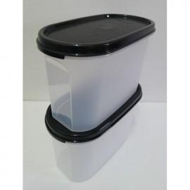 image of Tupperware Modular Mate Oval II(1) 1.1L - Black