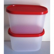 image of Tupperware Modular Mate Oval II(1) 1.1L - Chili