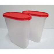 image of Tupperware Modular Mates Oval IV (1) 2.3L - Chili