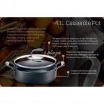 TUPPERWARE Black Series Casserole Pot 4.1L