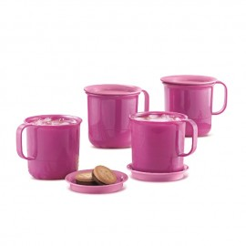 image of Tupperware Preludio Mugs (4) 350ml