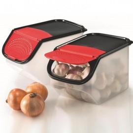 image of Tupperware Garlic-N-All Keeper