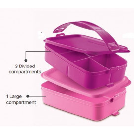 image of Tupperware Click to Go 2pcs 900ML