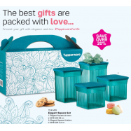 image of Tupperware Elegant Square Set (4pcs)