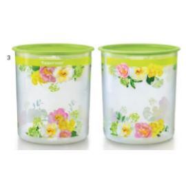 image of Tupperware Flora Raya One Touch Canister Large