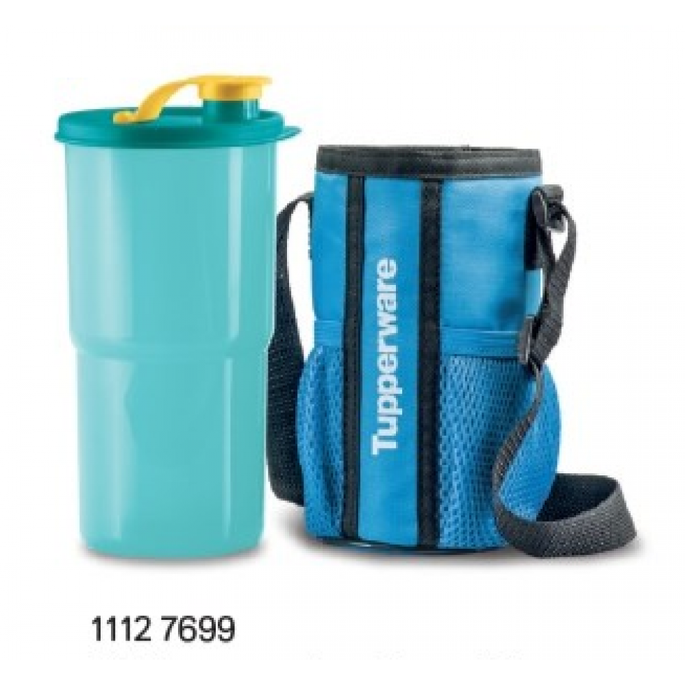 Tupperware Tumbler with Pouch