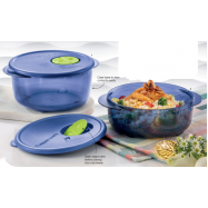 image of Tupperware Rock N Serve Round Set