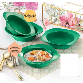 image of Tupperware Emerald Bowls