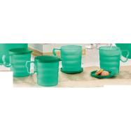 image of Tupperware Emerald Mugs & Seal