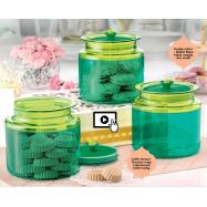 image of Tupperware Emerald Counterparts Set
