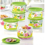 image of Tupperware Floral Raya One-Touch Topper Junior
