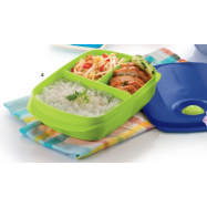 image of Tupperware Reheatable Divided Lunch Box