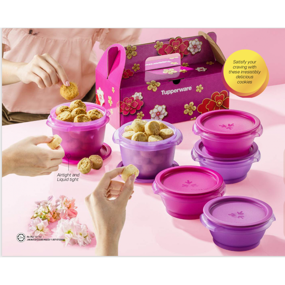 [CNY]Tupperware-Blessed Fortune Cookies Set