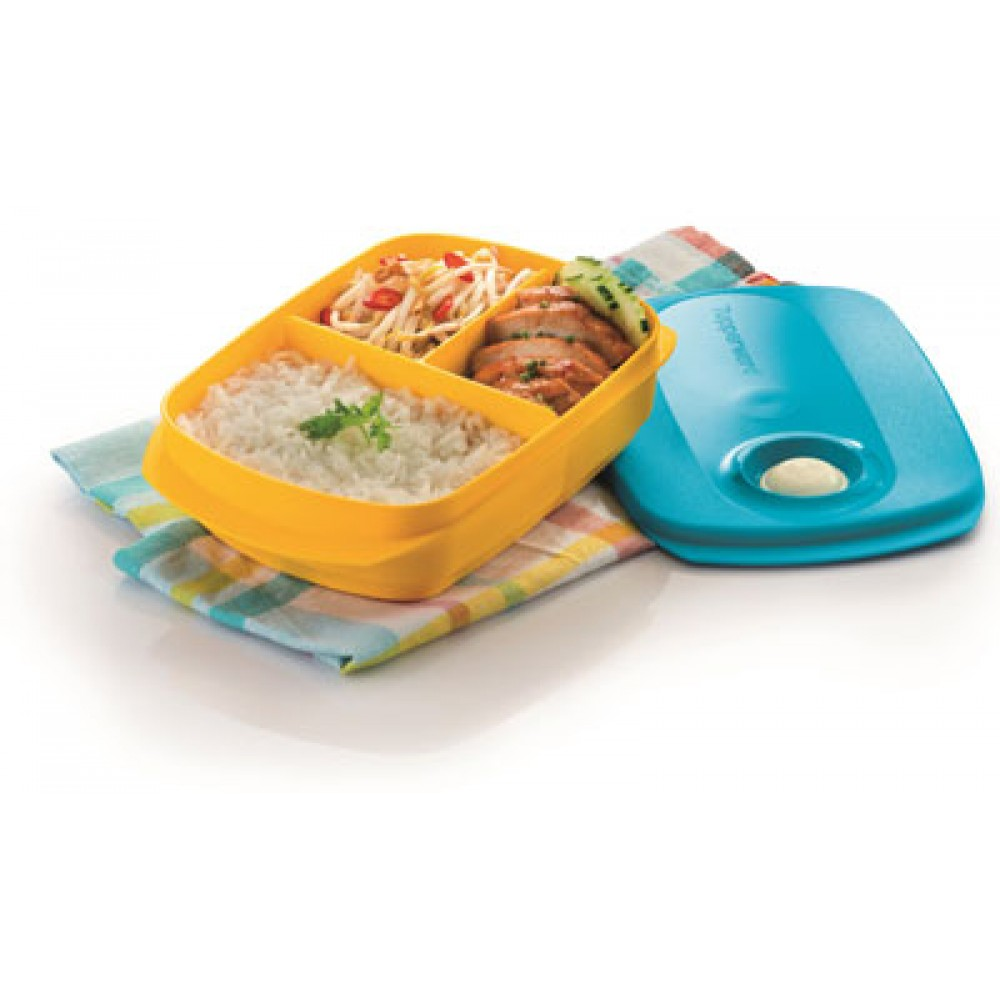 Tupperware Reheatable Divided Lunch Box (1) 1.0L