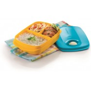 image of Tupperware Reheatable Divided Lunch Box (1) 1.0L