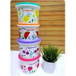 TUPPERWARE Fruity Canister Set Fresh & Fruity Fun