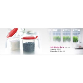 image of Tupperware Salt N Spice Set