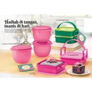 image of Tupperware Raya Cake Gift Set