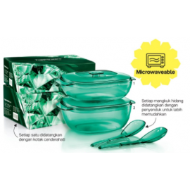 image of Tupperware Crystalline Server Set