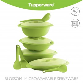 image of Tupperware Blossom Microwaveable Serveware