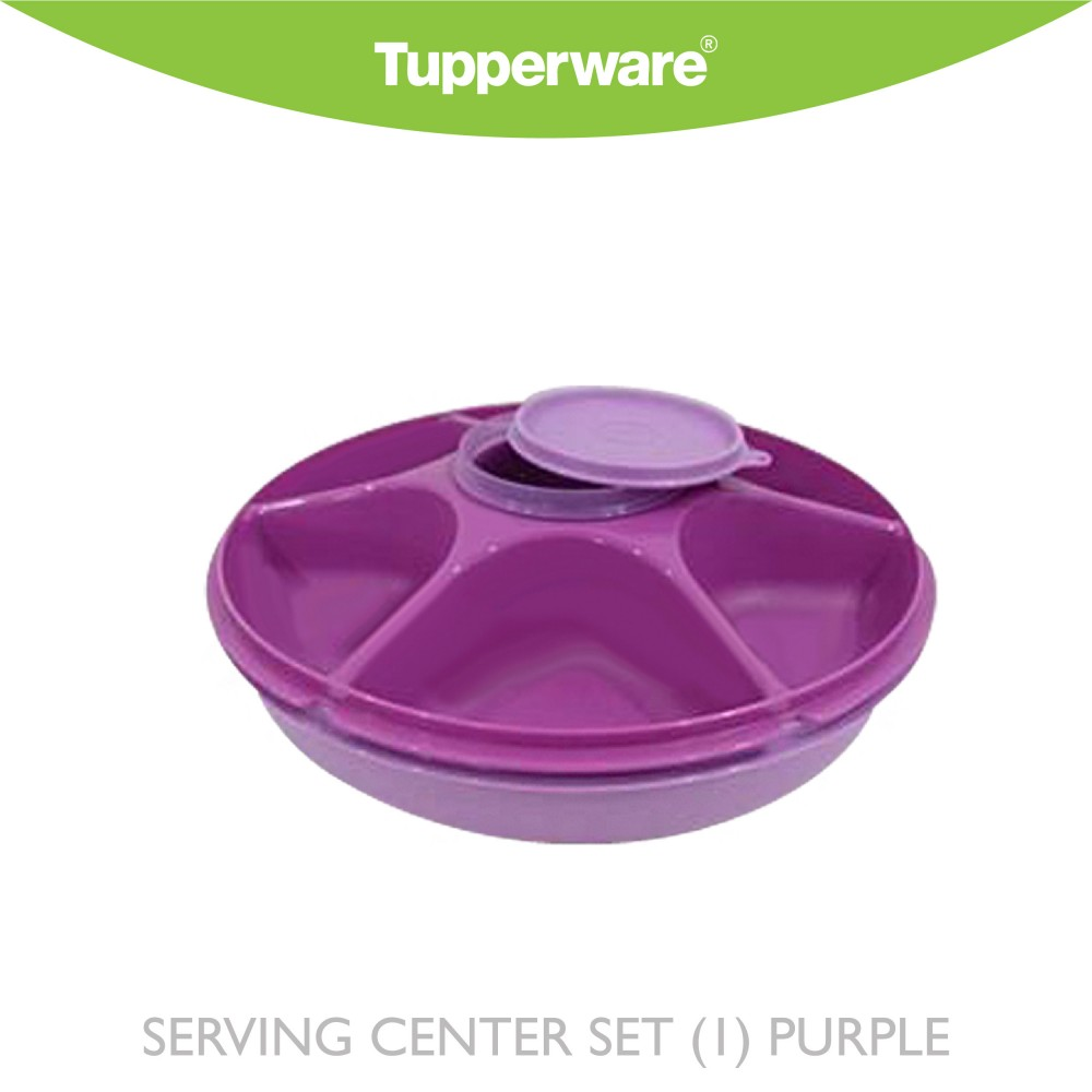 Tupperware Serving Center Set (1) Purple
