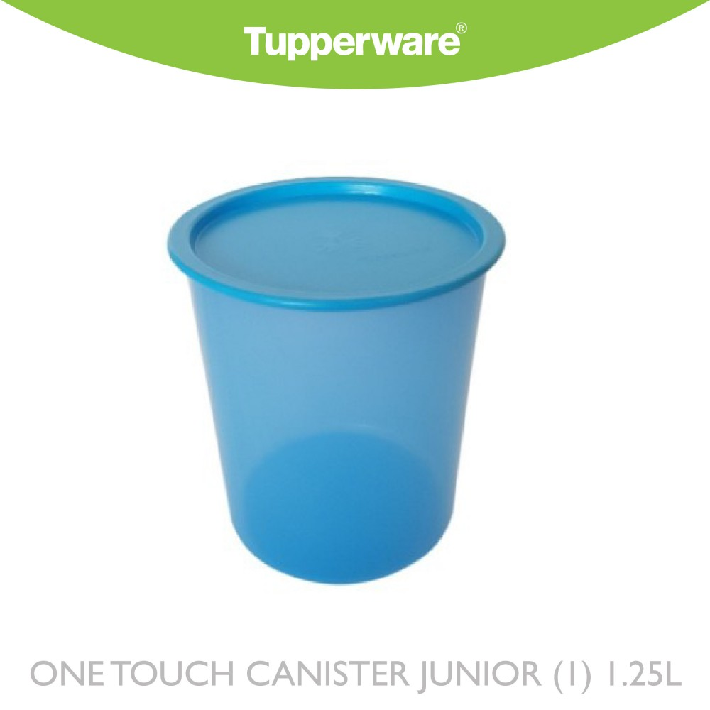 Tupperware One Touch Canister Junior (1) 1.25L