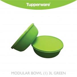 image of Tupperware Modular Bowl (1) 3L Green