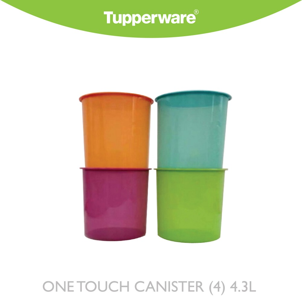 Tupperware One Touch Canister 4.3L