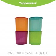 image of Tupperware One Touch Canister 4.3L