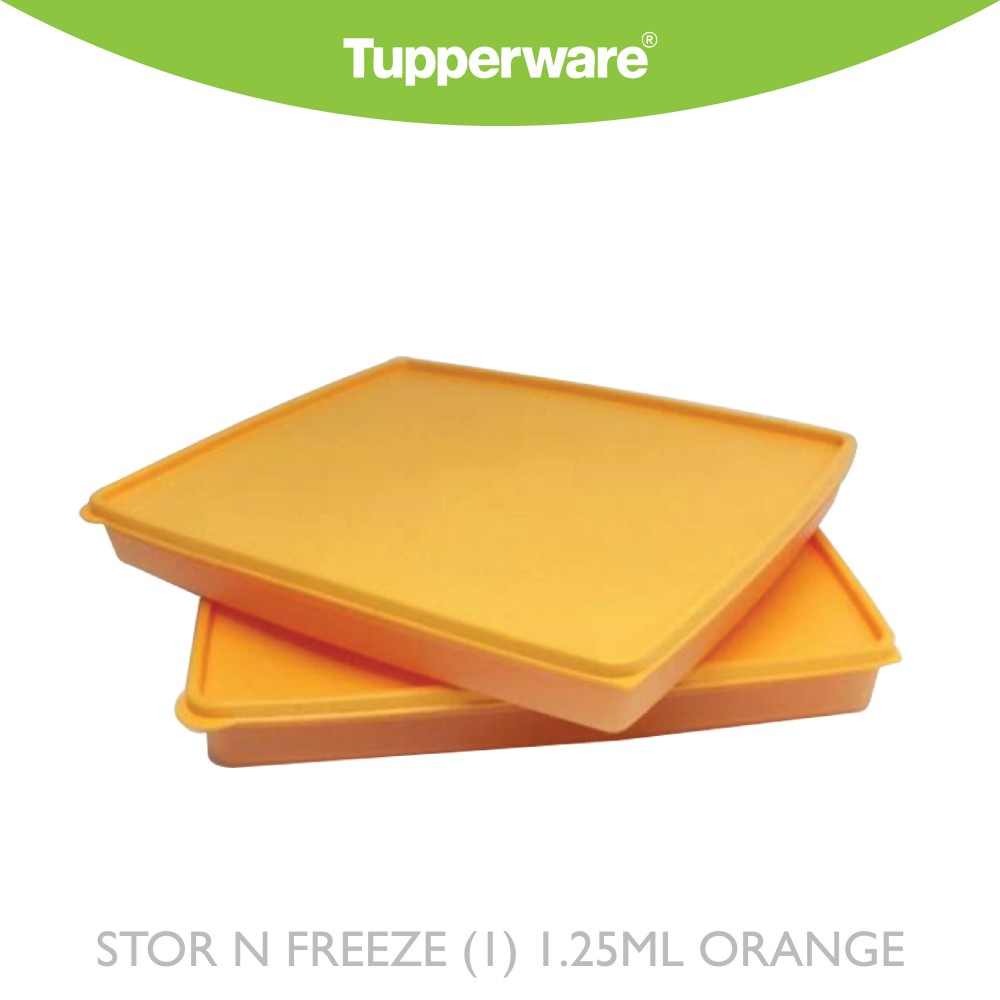 Tupperware Stor N Freeze (1) 1.25ml Orange