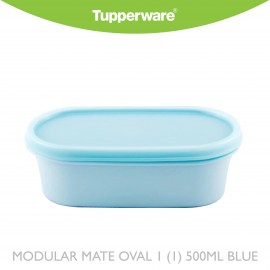 image of Tupperware Modular Mate Oval 1 (1) 500ml Blue