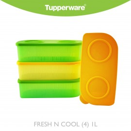image of Tupperware Fresh N Cool (4) 1L