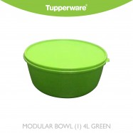 image of Tupperware Modular Bowl (1) 4L Green