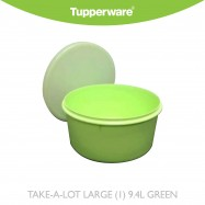 image of Tupperware TAKE-A-LOT LARGE (1) 9.4L GREEN