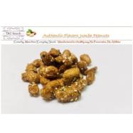 image of Caramel Sesame Dry Roasted Peanut 300g焦糖芝麻干烤山东豆